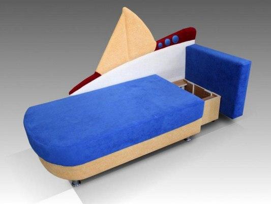 Детский диван Малина Кораблик 2