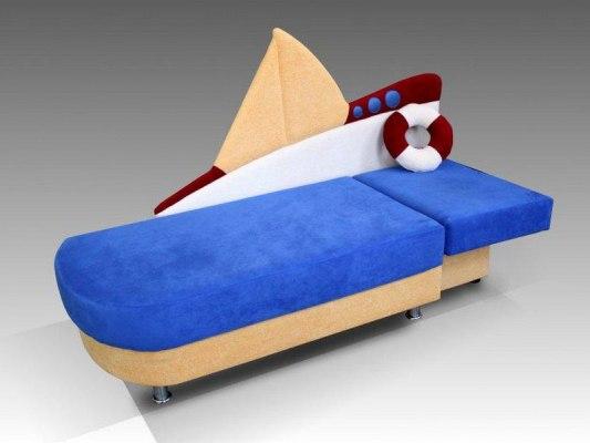 Детский диван Малина Кораблик 3