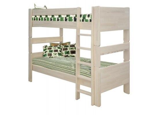 Кровать детская двухъярусная из массива дерева Vita Mia Лилия ( разборная ) 1
