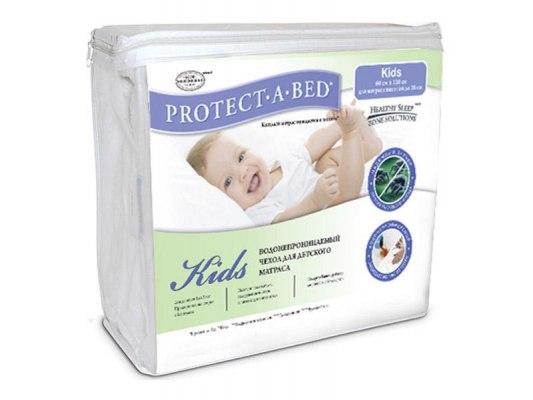 Чехол влагостойкий Askona Protect-a-Bed Kids ( с боковинами ) 2
