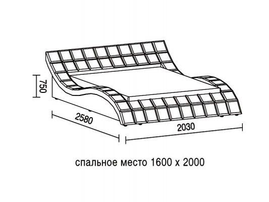 Кровать Soft Bed Tatami 1 2