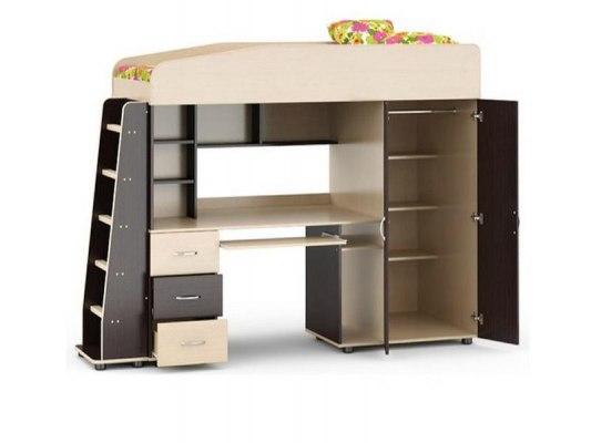 Кровать чердак Легенда 1 ( для детей и взрослых ) 2