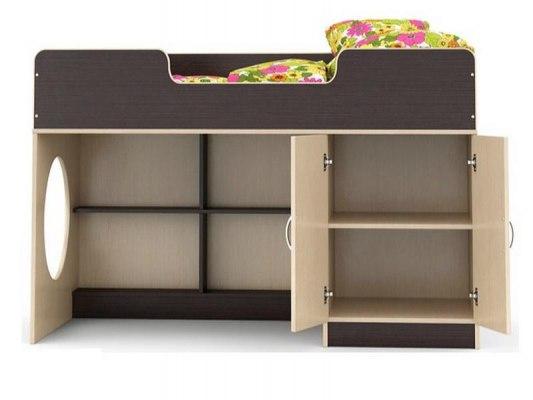 Кровать чердак Легенда 2.2 ( с письменным столом ) 2
