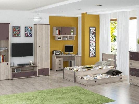 Кровать Интеди детская ИД 01.245а Хэппи 5