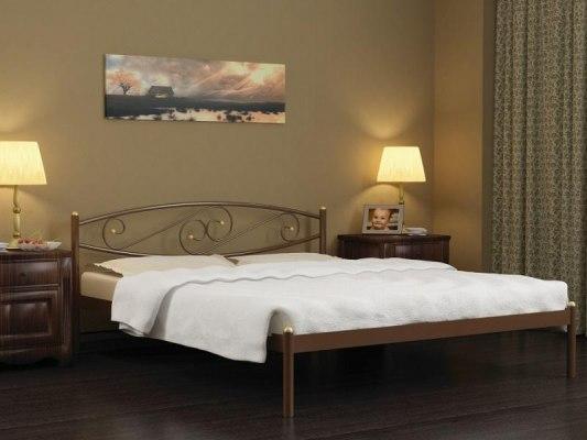 Кровать металлическая СтиллМет Волна 2