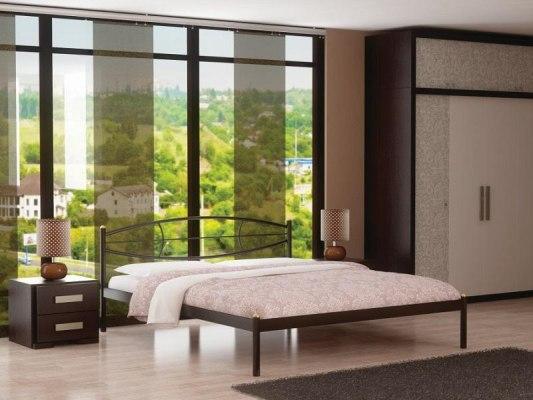 Кровать металлическая СтиллМет Аура 2