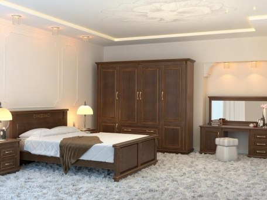 Кровать DreamLine Палермо ( массив бука или ясеня ) 6