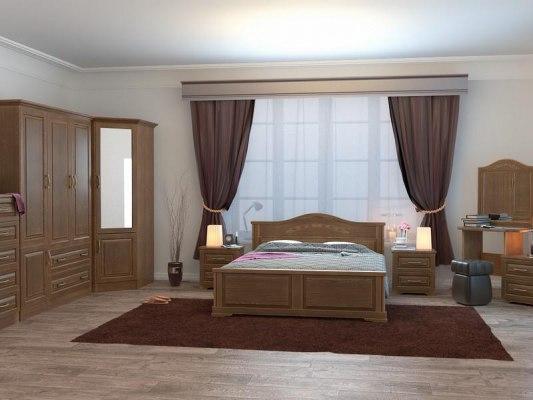 Кровать DreamLine Эдем ( массив бука или ясеня ) 4