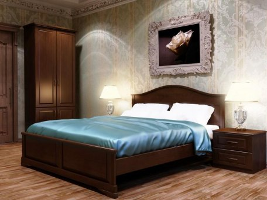 Кровать DreamLine Эдем 1 ( массив бука или ясеня ) 1