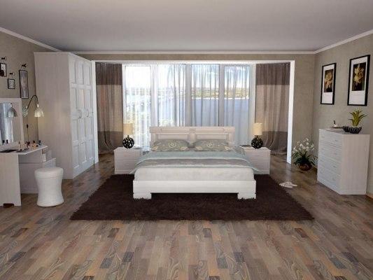 Кровать DreamLine Варна ( массив бука или ясеня ) 3