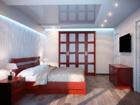 Кровать DreamLine Парма ( массив бука или ясеня ) 4