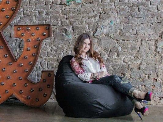 Кресло мешок Фьюжн Черное 1