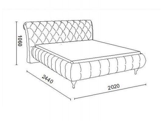Кровать Soft Bed Sofia 6
