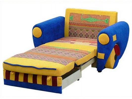 Детский раскладной диван М-Стиль Бумер 2
