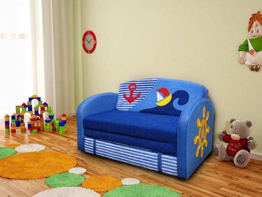 Детский раскладной диван М-Стиль Волна 1