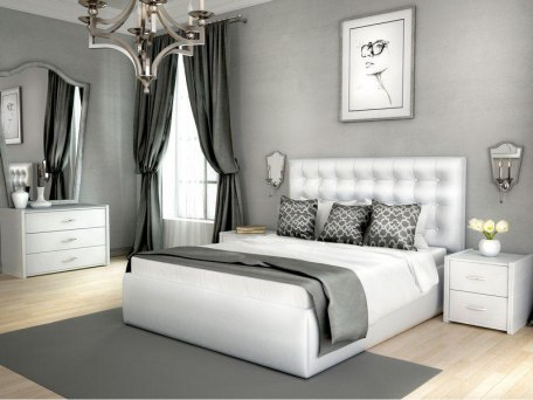 Кровать Лонакс Аврора с подъемным механизмом 1