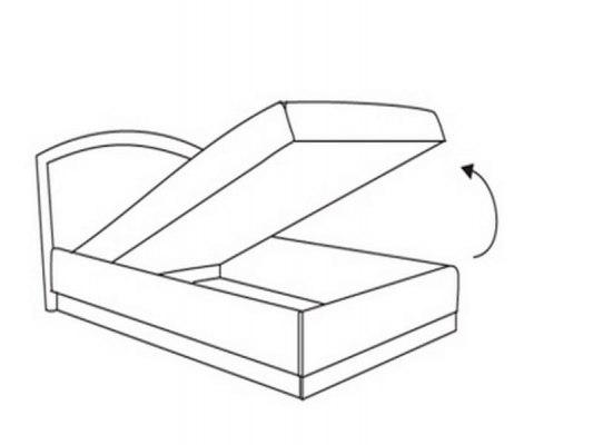 Тахта Овальная спинка Боровичи-Мебель с независимым пружинным блоком 2