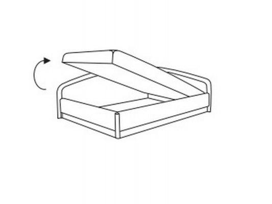 Угловая тахта Боровичи-Мебель с подъемным механизмом и независимым пружинным блоком 2
