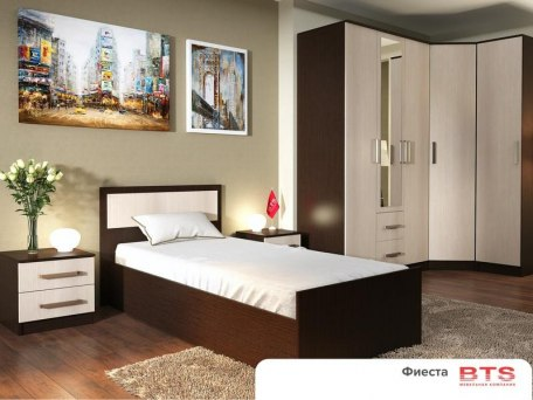Кровать BTS Фиеста 3