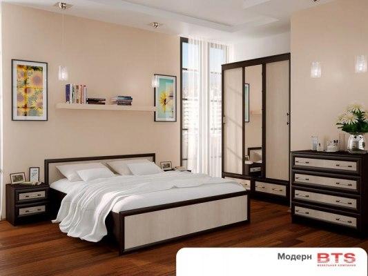 Кровать BTS Модерн 2