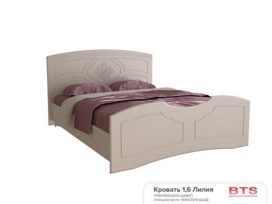 Кровать BTS Лилия 2