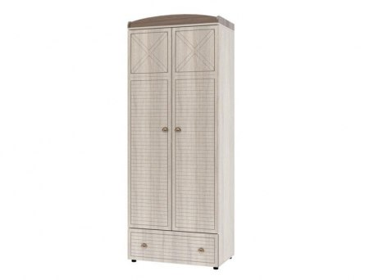 2-х дверный шкаф Интеди ИД 01.346 Калипсо с ящиками 1