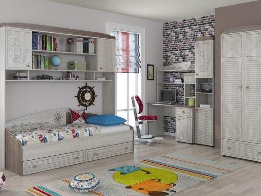 Кровать Интеди детская ИД 01.250 Калипсо 2