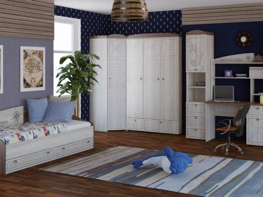 Кровать Интеди детская ИД 01.250 Калипсо 3