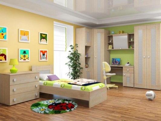 Кровать Интеди детская ИД 01.25 Саша Модерн 2