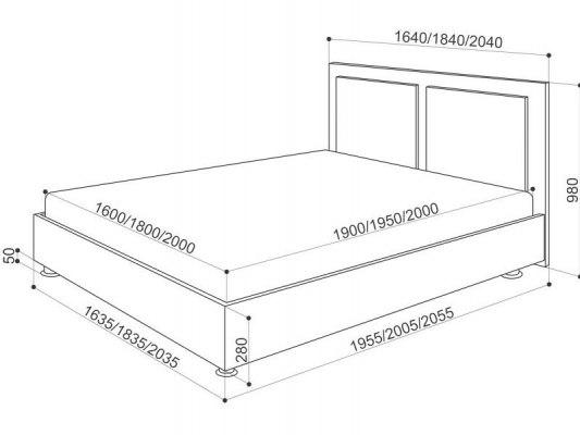 Кровать Промтекс-Ориент Renli Райс 2 5
