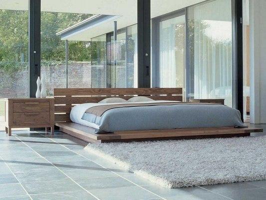 Кровать - татами из массива дерева Vita Mia Dansen (Дансэн) 1