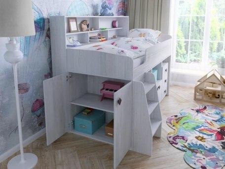 Кровать чердак Ярофф Малыш 5 3