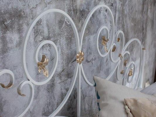 Кованная кровать Francesco Rossi Афина ( с одной спинкой ) 2