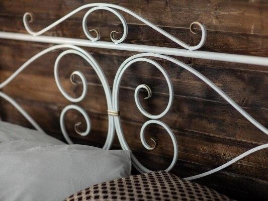 Кованная кровать Francesco Rossi Валенсия ( с одной спинкой ) 2