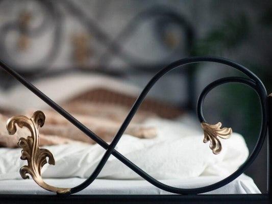 Кованная кровать Francesco Rossi Венеция 2
