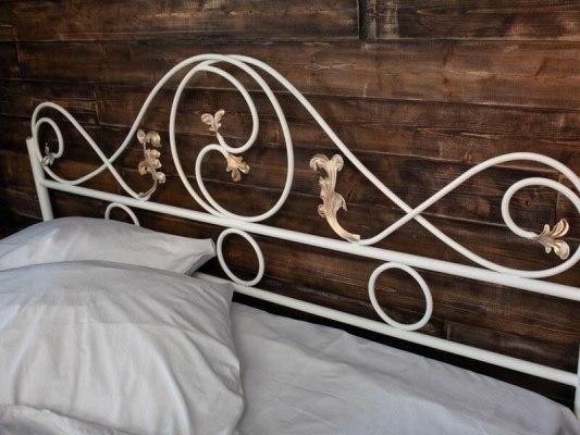 Кованная кровать Francesco Rossi Венеция 3