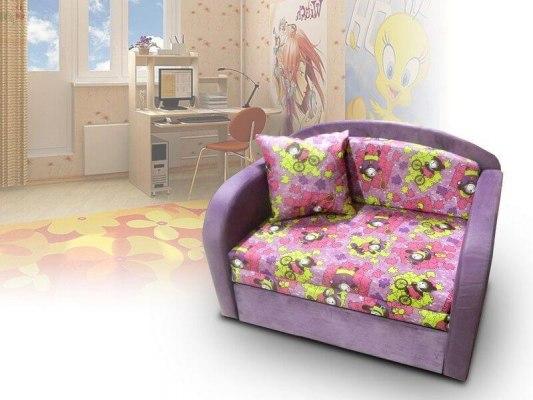 Детский минидиван - кровать Малина Октябренок банни 07 1