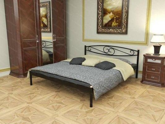 Кровать металлическая СтиллМет Волна 1