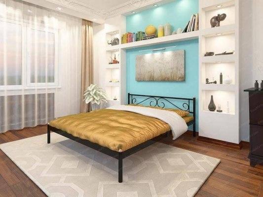 Кровать металлическая СтиллМет Шарм 1