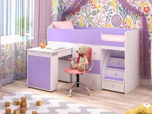 Кровать чердак Ярофф Малыш 3
