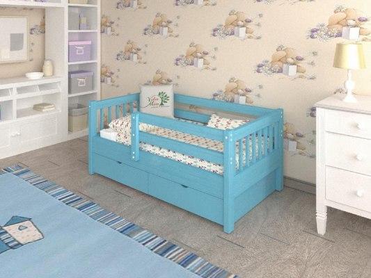 Кровать детская из массива дерева Vita Mia Крош 4
