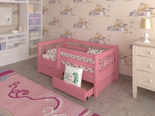 Кровать детская из массива дерева Vita Mia Крош 2