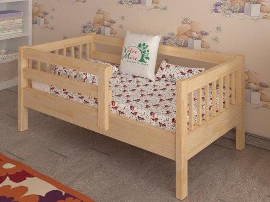 Кровать детская из массива дерева Vita Mia Крош 1