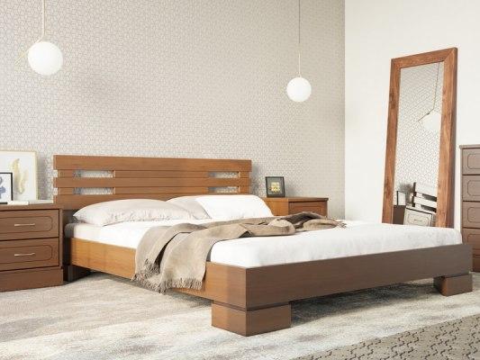 Кровать DreamLine Варна 1 ( массив бука или ясеня ) 1