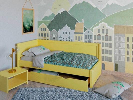 Кровать деревянная Vita Mia Domenica (Доменика) 2