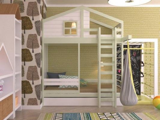 Кровать с игровым комплексом KidVillage Финляндия-4 2
