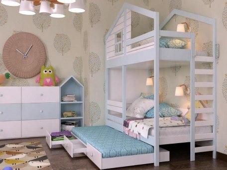 Кровать KidVillage Финляндия-5 1