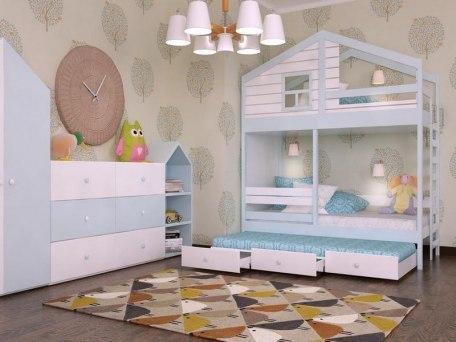 Кровать KidVillage Финляндия-5 2