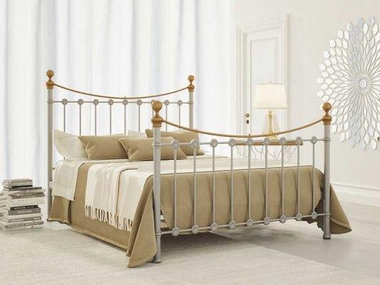 Кровать металлическая DreamLine First (2 спинки) 5