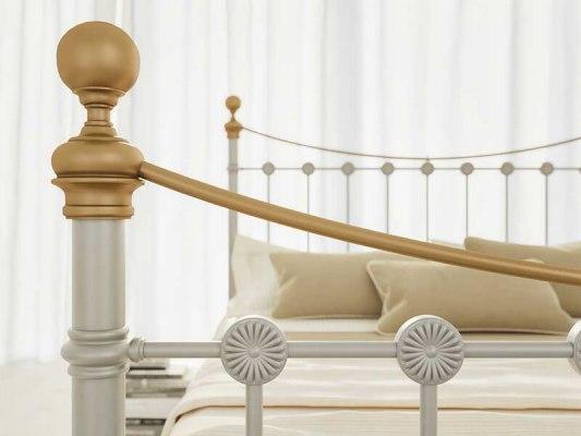 Кровать металлическая DreamLine First (2 спинки) 6